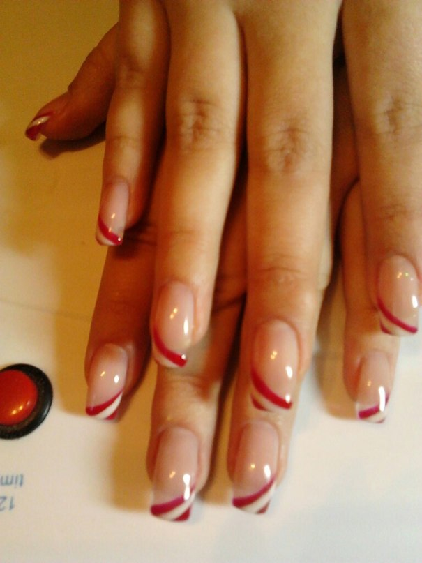 Коррекции ногтей рисунки