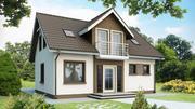 Проект для строительства дома,  коттеджа,  бани!Услуги по дизайну!