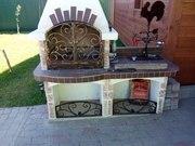 Дверцы для камина кованые