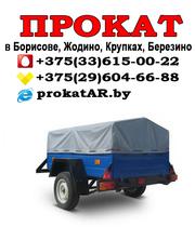 Аренда и прокат прицепов в Борисове,  Жодино,  Крупках,  Березино,  Смолев