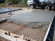Заливка фундамента,  заливка бетоном