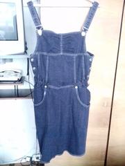 Новый сарафан для беременных,  размер 46-48,  ткань джинсовая (стрейч)