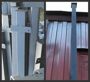 Столбы металлические для заборов. Бесплатная доставка в РБ!