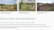 Фундамент на сваях недорого установим , Борисов и район