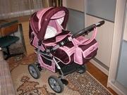 Продам детскую коляску,  б/у для девочки,  г.Борисов
